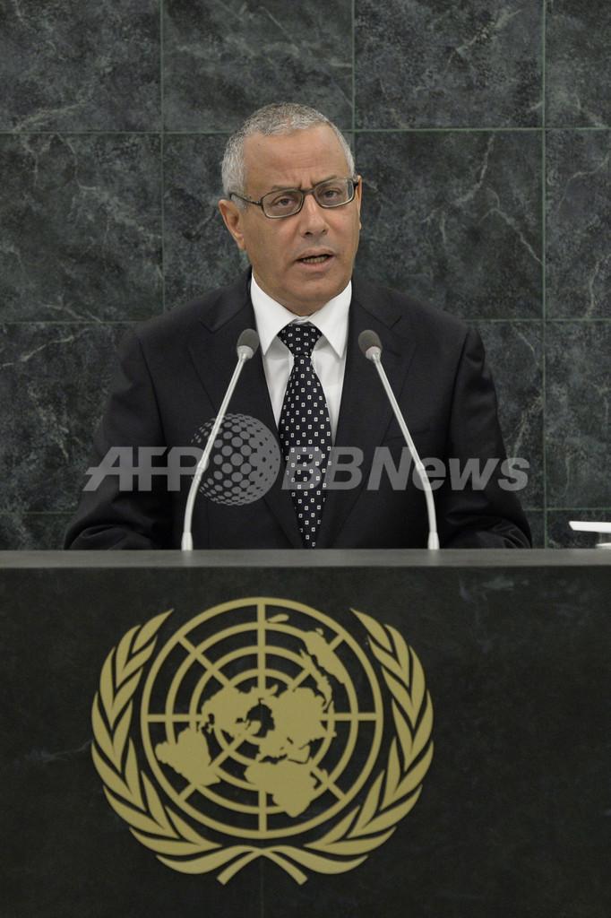 リビア首相、武装集団に連れ去られる