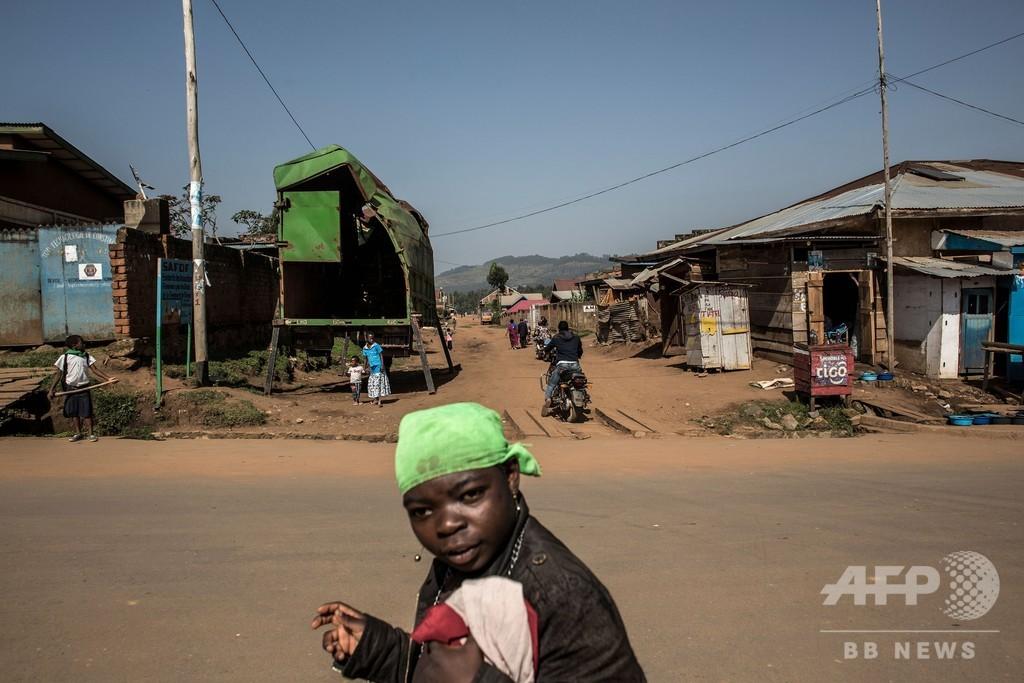 武装集団がエボラ治療センター襲撃、警察官1人死亡 コンゴ民主共和国