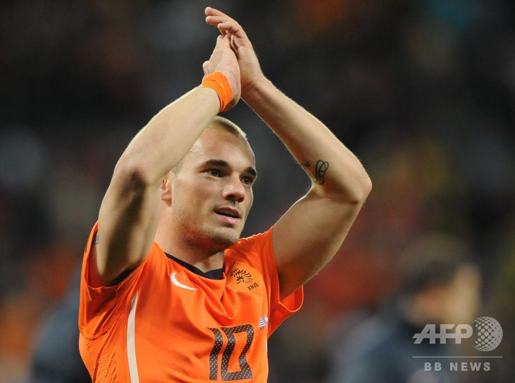 スナイデルが現役引退、オランダ代表最多出場の英雄