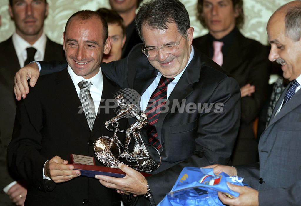 ベッティーニらがプローディ首相を訪問