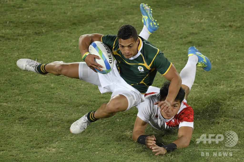 南アフリカのコルビ、7人制ラグビーの五輪金メダル獲得へ意欲