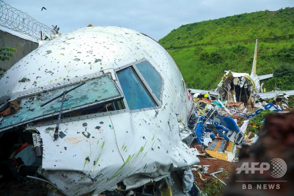 インドの旅客機事故、死者18人に 22人が深刻な容体