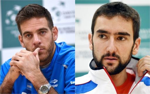 デルポトロとチリッチの両エースに注目、アルゼンチン対クロアチアのデ杯決勝