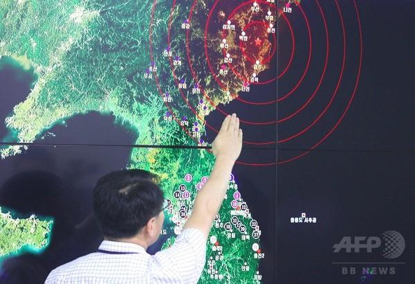 北朝鮮、核弾頭の爆発実験に「成功」 ミサイル搭載可能と発表