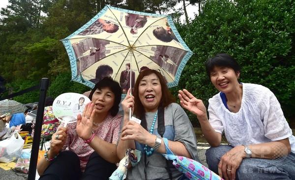 ヨン様結婚式、日本人ファンがソウルに集結