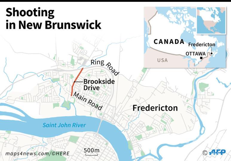 カナダ東部での銃撃事件、計画殺人で容疑者訴追 動機は不明