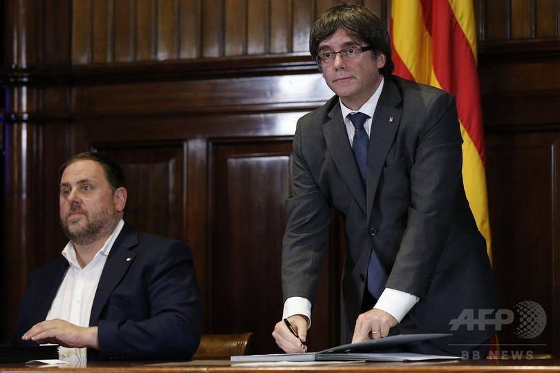プチデモン氏は「今もカタルーニャ首相」、側近が地元紙に寄稿
