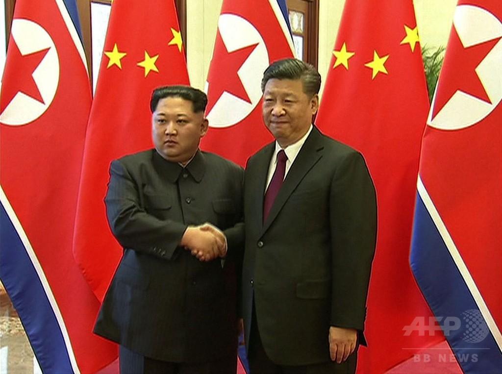 中国訪問は「厳粛な義務」 金正恩氏