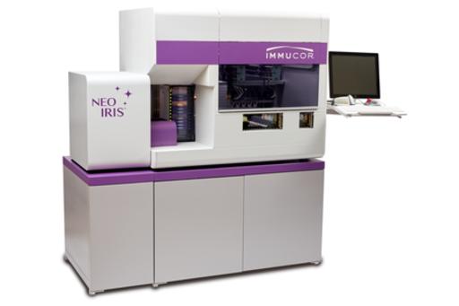 高い処理能力を持つ、次世代の全自動輸血検査装置「NEO Iris」5月23日新発売