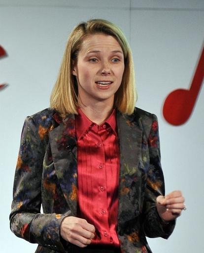 米ヤフーのメイヤー新CEO、妊娠していた 10月出産予定