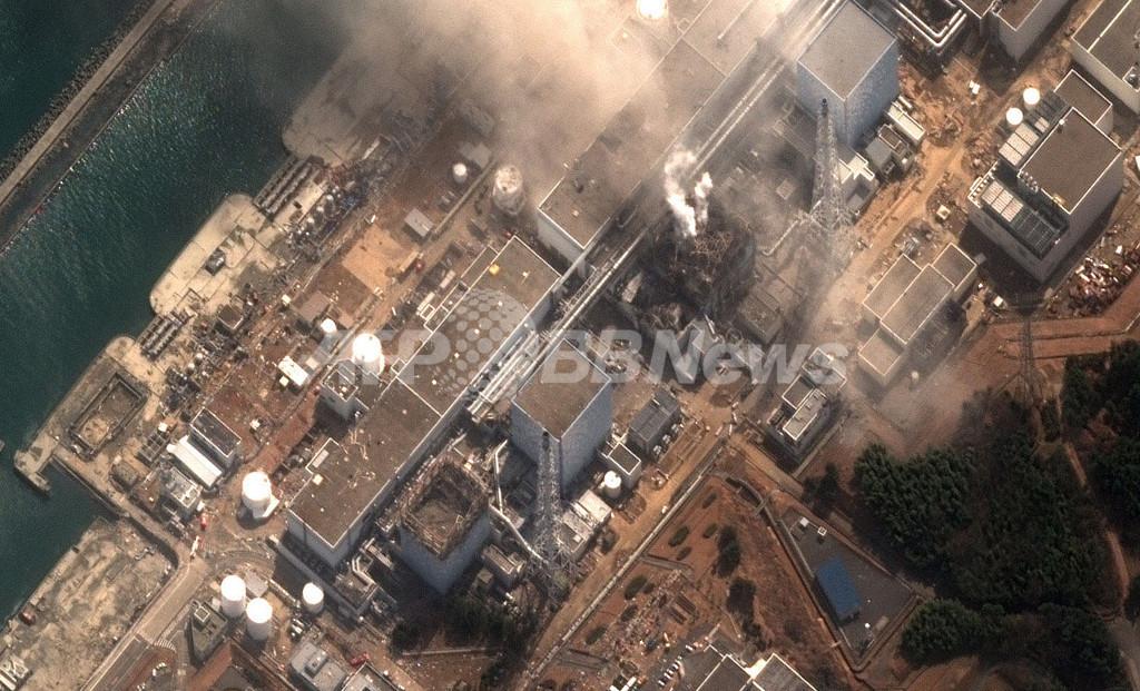 福島第1原発2号機で爆発音