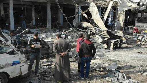 動画:シリア政府軍と反体制派が衝突、約70人死亡 停戦後「最も激しい戦闘」