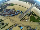 中国・浙江省で豪雨、2万人以上が避難