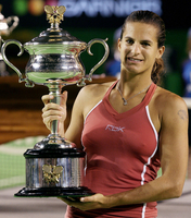 【写真特集】全豪オープンテニス、女子シングルス歴代優勝選手 2000年以降