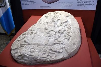 マヤ文明の覇権争い刻んだ祭壇、ラ・コロナ遺跡で発見 グアテマラ