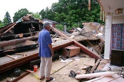 新潟県中越沖地震 7人死亡、692 人以上負傷