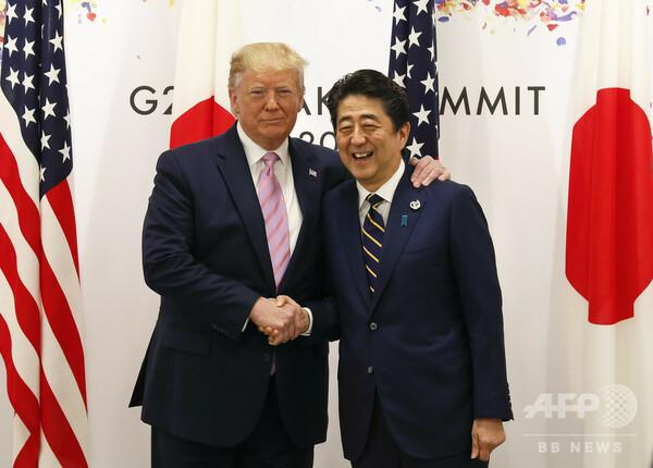 G20大阪サミットで日米首脳会談
