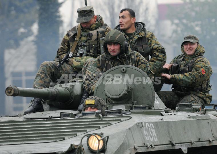 グルジアでNATO軍事演習始まる