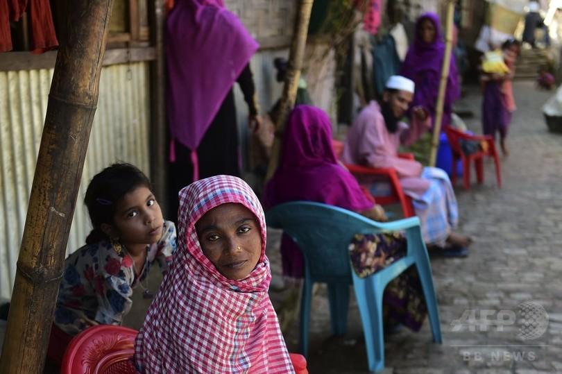 ロヒンギャ2万1000人、ミャンマーからバングラデシュへ脱出