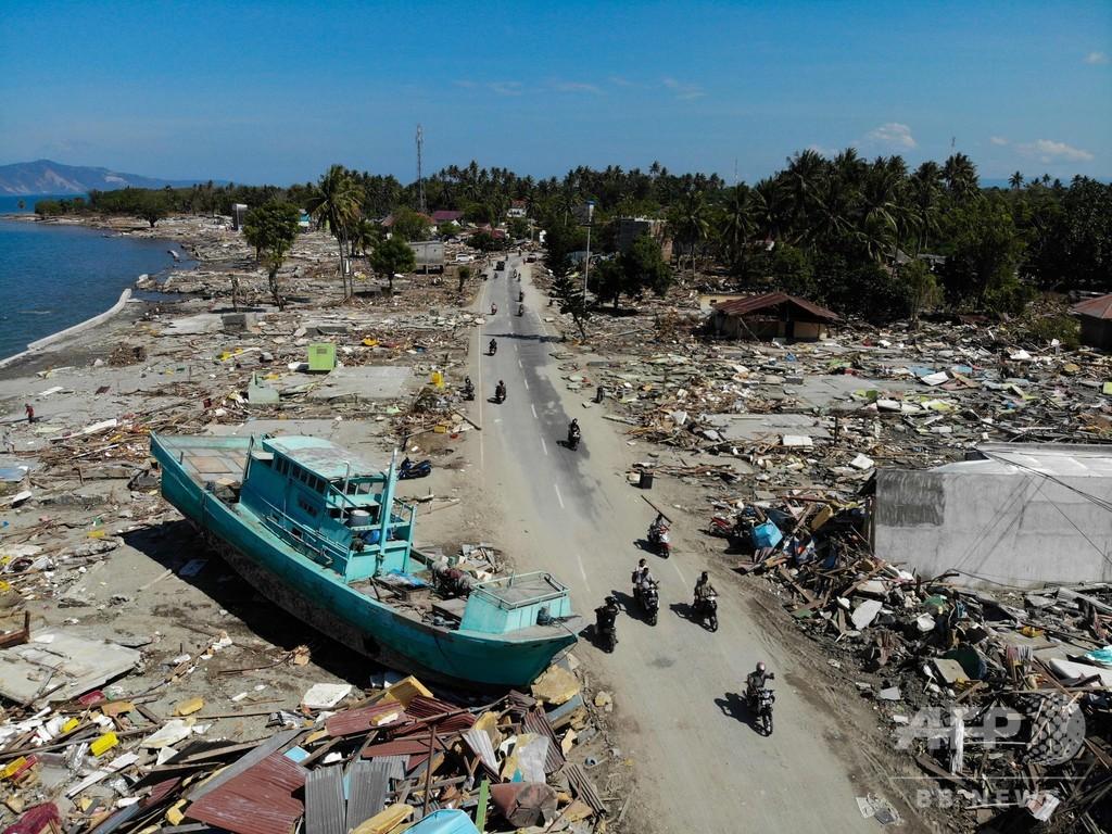スラウェシ島地震、刑務所3か所から受刑者1200人が脱獄