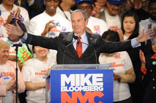 ブルームバーグ氏3選、NY市長選