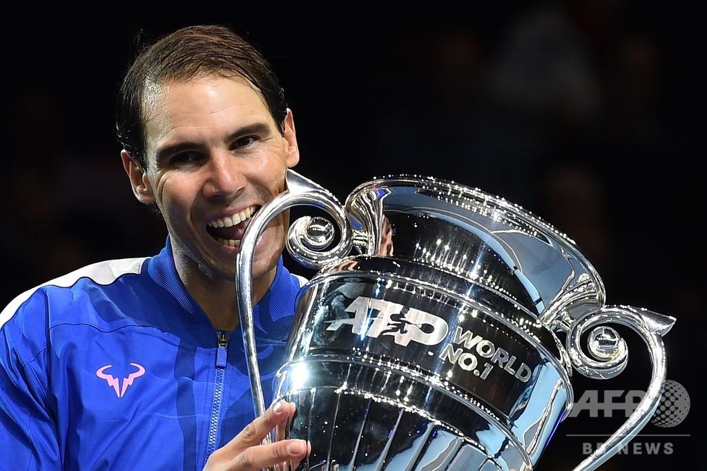 ATP年間1位確定のナダル、GS優勝と比較するのは「難しい」