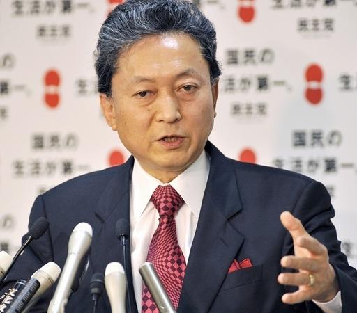 野党第一党を率いる名門政治家、民主党新代表の鳩山由紀夫氏