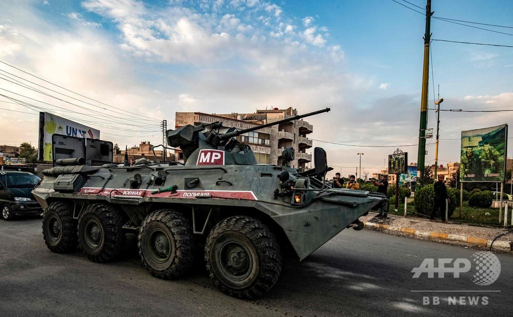 クルド人部隊、シリアの対トルコ国境から撤収開始