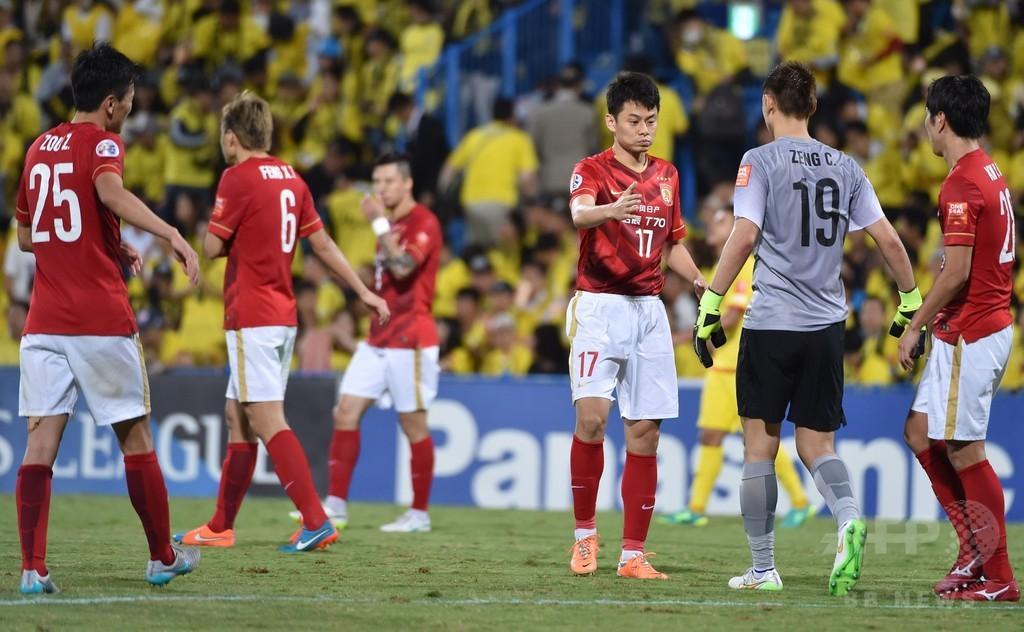 柏は広州に完敗、パウリーニョが驚異の一撃 アジア・チャンピオンズリーグ