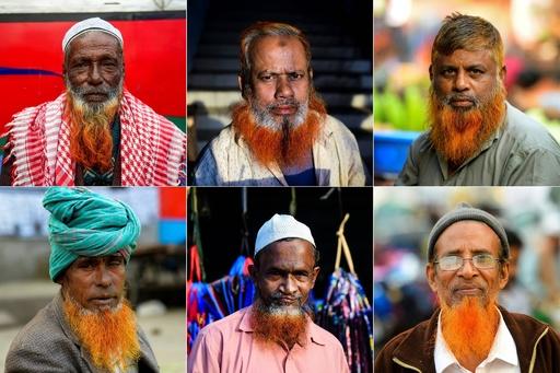 「オレンジ色のひげ」がじわり熱い バングラデシュ