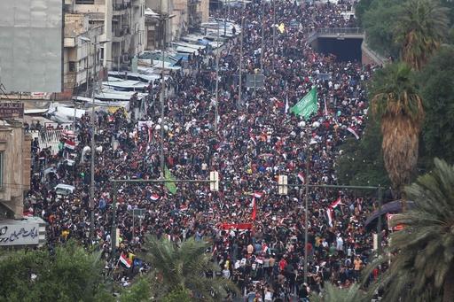 イラク反政府デモの第2波、死者40人以上