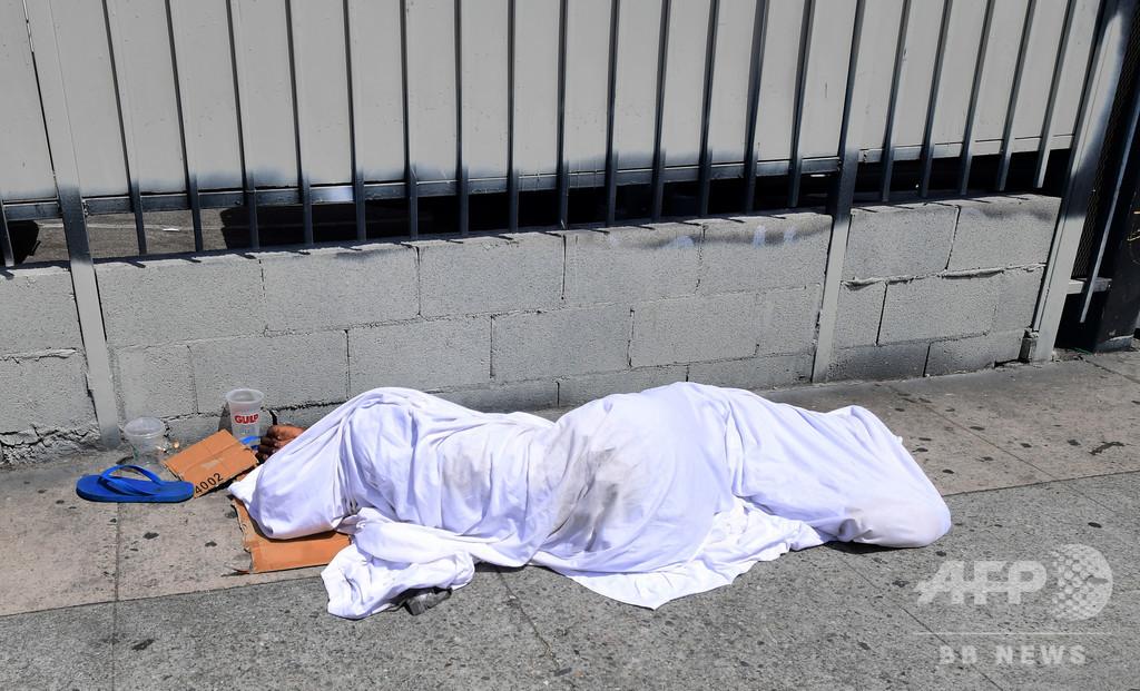 米教会、ホームレス監禁し物乞い強要か 指導者12人逮捕