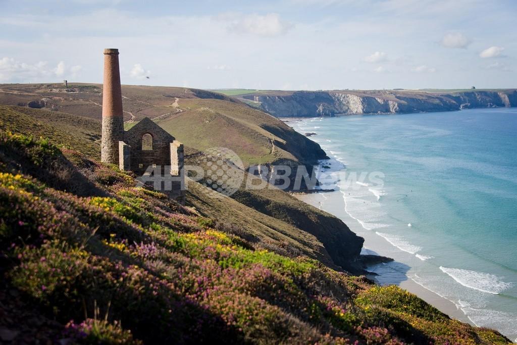 英コーンウォールの海でスズ採掘計画、事業者と観光業界などが対立
