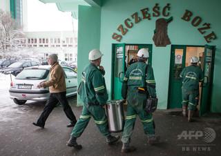 地震で2人死亡、ポーランドの鉱山 行方不明者も
