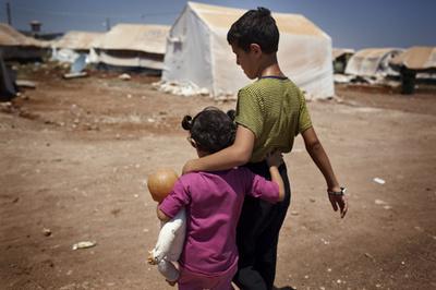 中東の2000万人の子どもにポリオの予防接種計画、国連