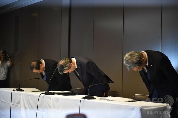 東芝、社長ら経営幹部が辞任 不正会計問題で