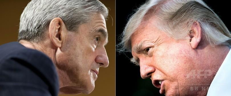 トランプ大統領、ロシア介入疑惑捜査での証言に「意欲的」と弁護士