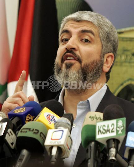 パレスチナ建国後も「イスラエルを認めない」 ハマス最高指導者