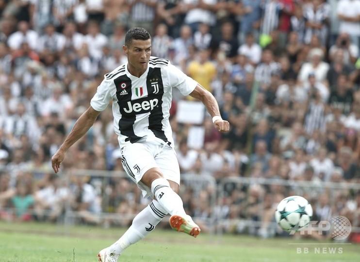 ロナウド、ユースチームとの練習試合でユーベ移籍後初ゴール