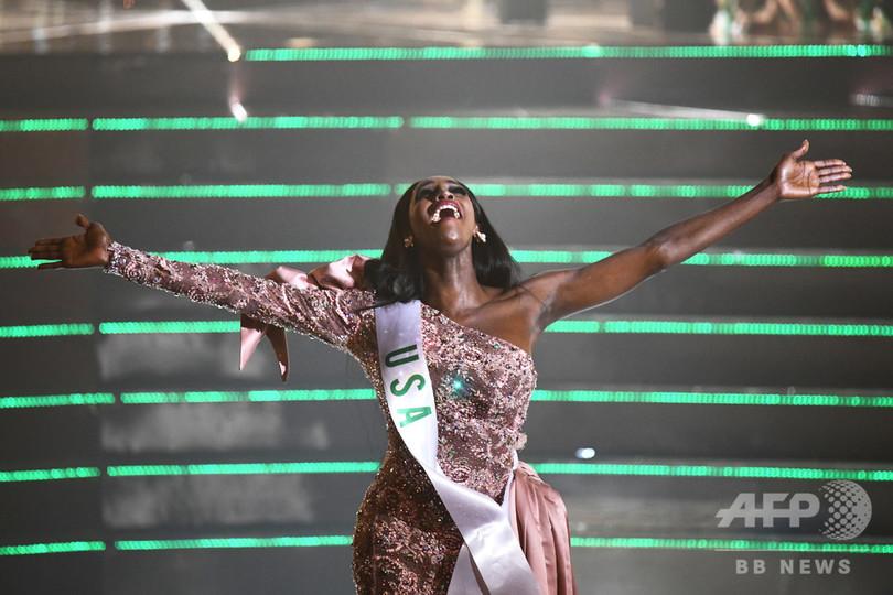 タイでトランスジェンダーの美人コンテスト、優勝は米国代表