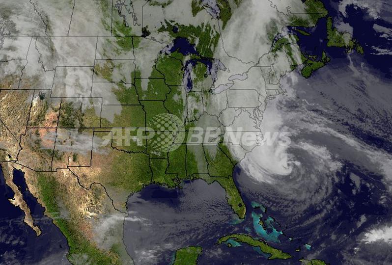 ハリケーン「サンディ」、米東部に接近 各地で警戒