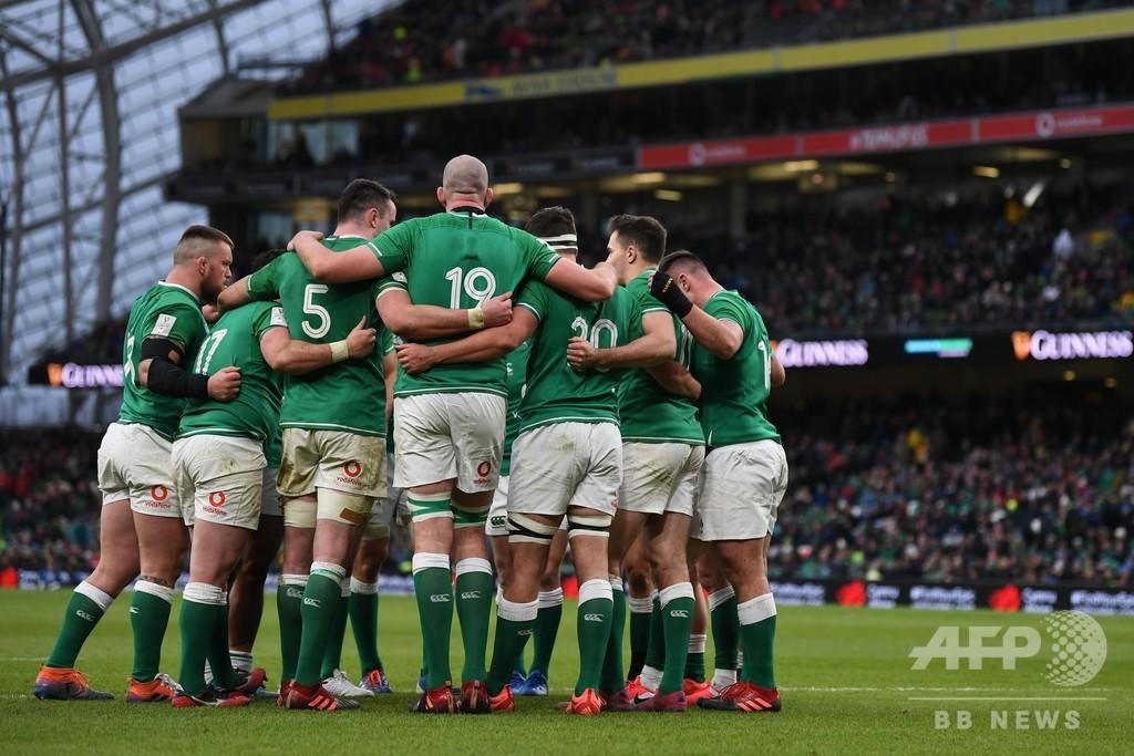 アイルランド、昨季シックスネーションズ全勝優勝のウェールズ下す