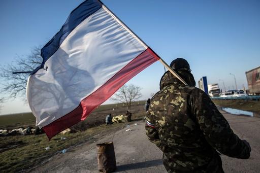 クリミア議会、ウクライナからの独立を決議