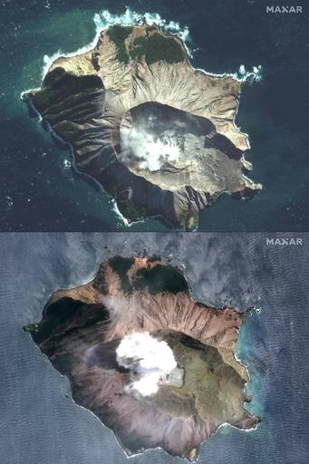 NZ火山噴火、死者8人 不明者9人に さらなる噴火の恐れ