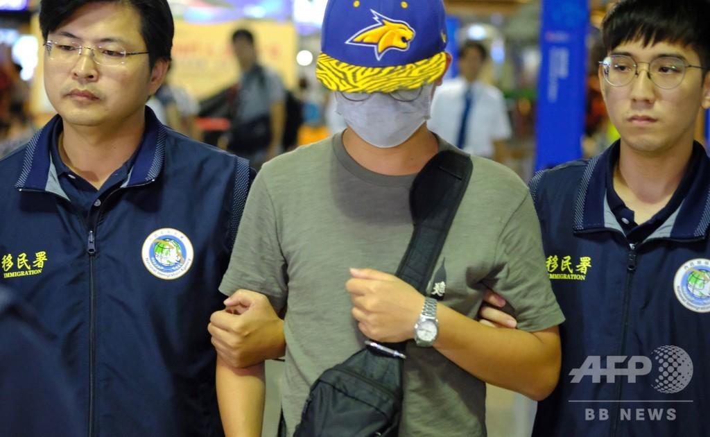 台湾、中国人観光客を退去処分 香港デモ支持の「レノンウォール」損壊で