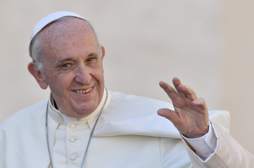 ローマ法王、日本の「過度の競争」を戒め 学生とテレビ会議