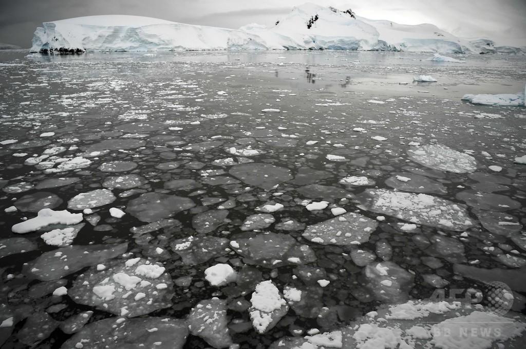 南極融解で1メートルの海面上昇、2100年までに 最新研究