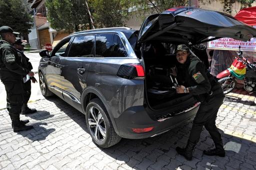 ボリビア、メキシコ大使とスペイン外交官らに国外退去命じる