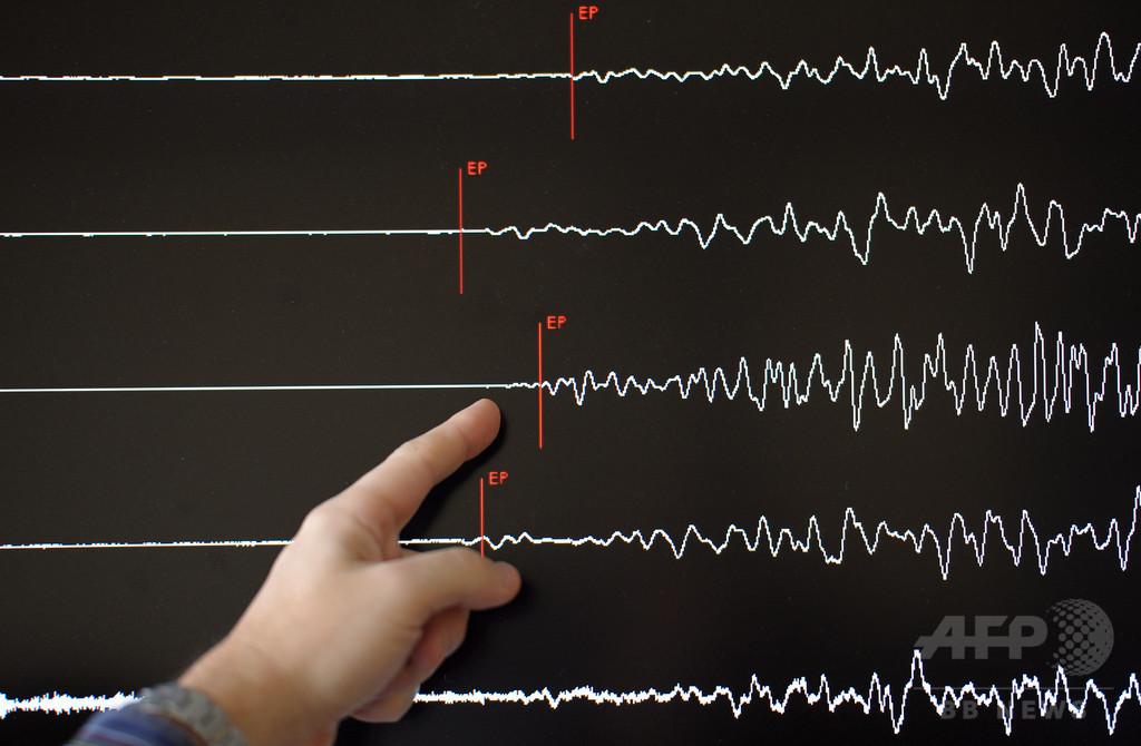 バヌアツでM6.1の地震、津波警報なし