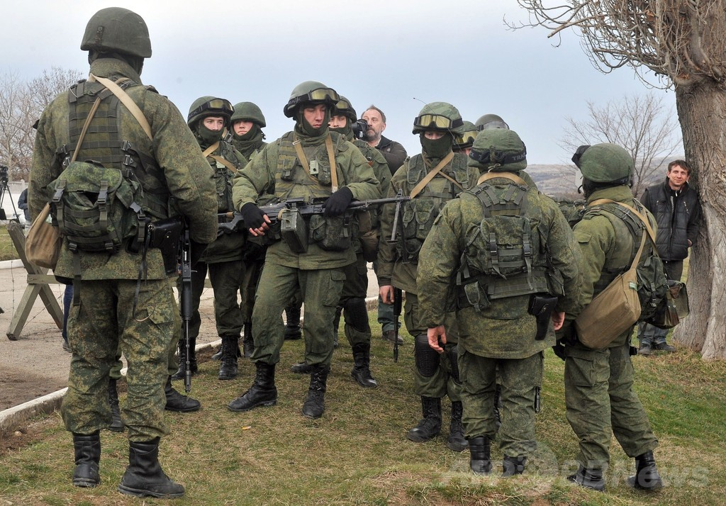 G7首脳、ウクライナ問題でロシアを非難